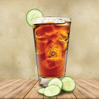 Cool Harmony – A Cucumber & Lemon Iced Tea