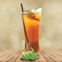 Soothing Mist – A Green Apple & Lemon Iced Tea