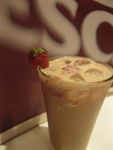 Strawberry Frappe Recipe for Cold Beverage Vending Machine